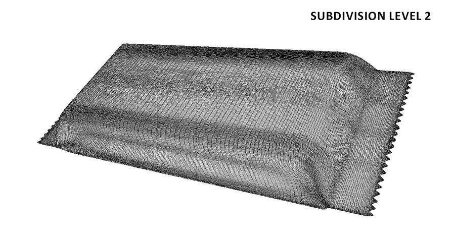 2 Food Bar Bag royalty-free 3d model - Preview no. 14