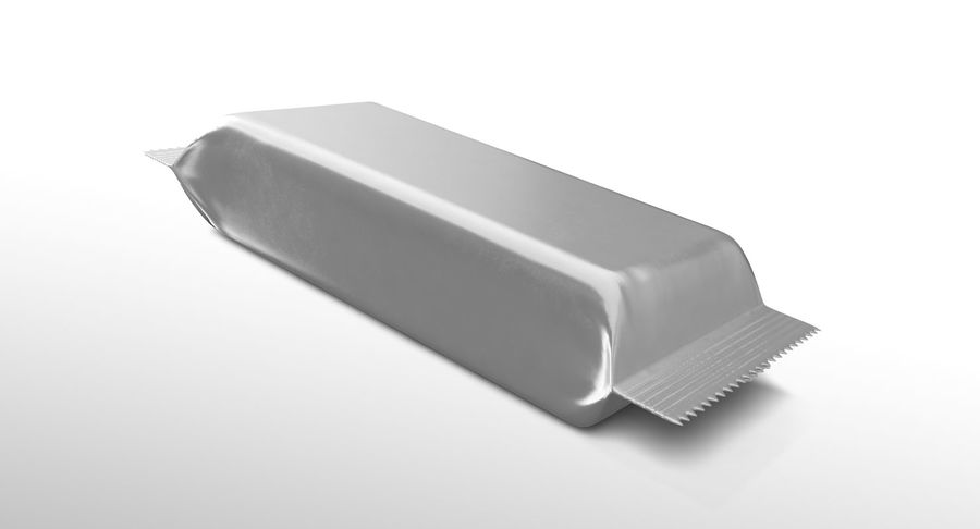 2 Food Bar Bag royalty-free 3d model - Preview no. 5