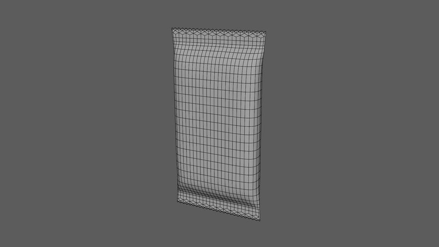 2 Food Bar Bag royalty-free 3d model - Preview no. 26