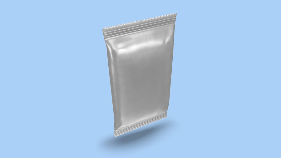 2 Food Bar Bag royalty-free 3d model - Preview no. 18