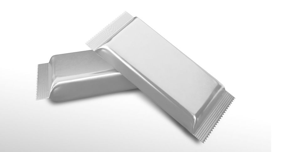 2 Food Bar Bag royalty-free 3d model - Preview no. 6