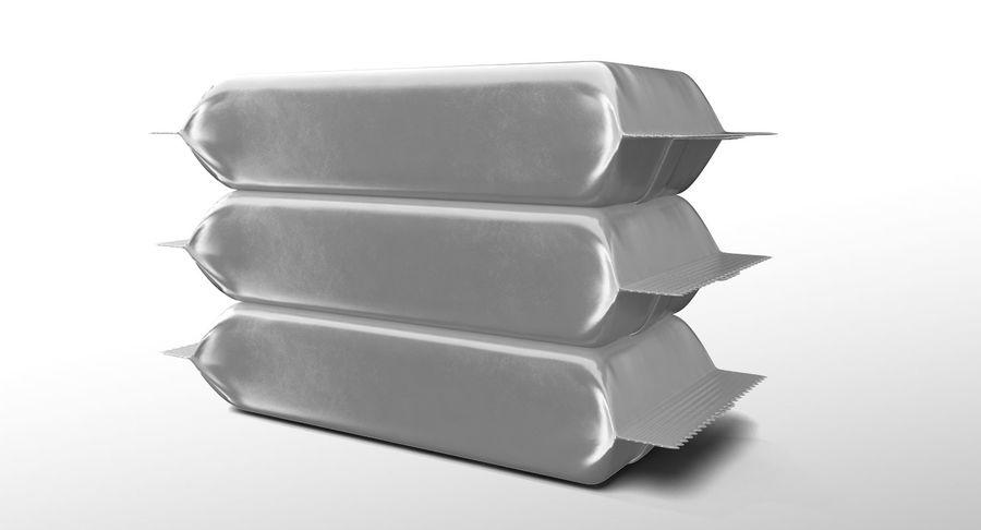 2 Food Bar Bag royalty-free 3d model - Preview no. 7