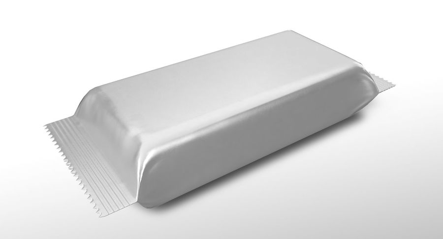 2 Food Bar Bag royalty-free 3d model - Preview no. 3