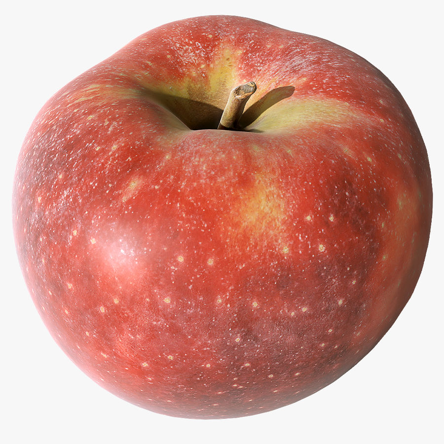 Scanned Apple 01 royalty-free 3d model - Preview no. 1