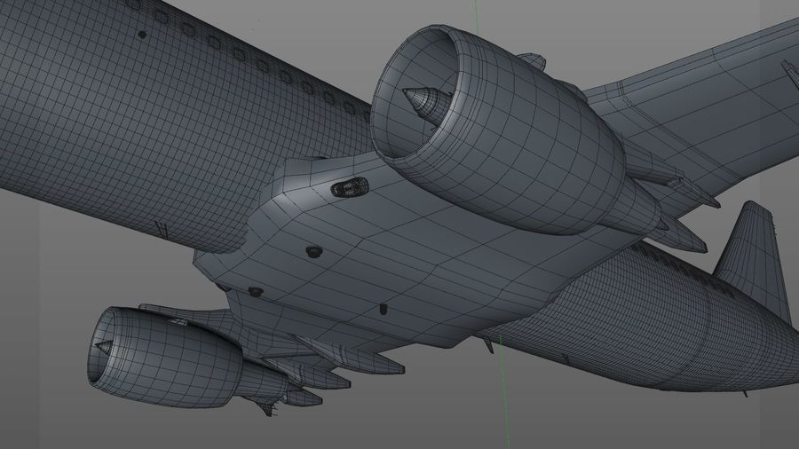 AIR BERLIN Airbus A320 L494 royalty-free 3d model - Preview no. 37