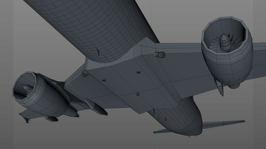 AIR BERLIN Airbus A320 L494 royalty-free 3d model - Preview no. 36