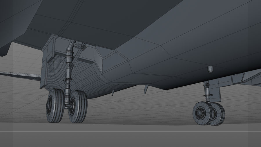 AIR BERLIN Airbus A320 L494 royalty-free 3d model - Preview no. 29