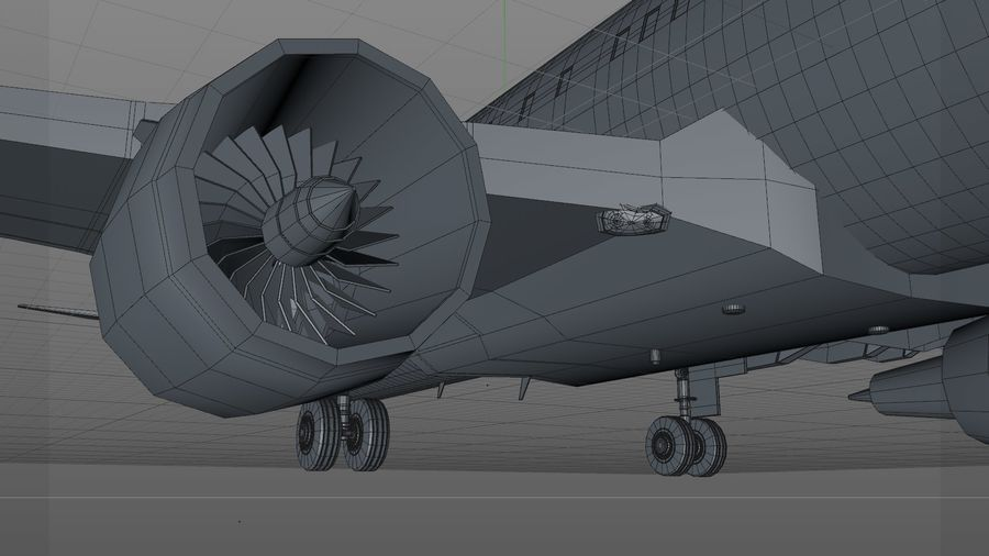 AIR BERLIN Airbus A320 L494 royalty-free 3d model - Preview no. 28