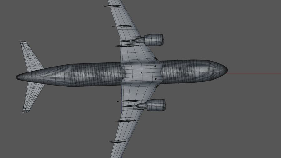 AIR BERLIN Airbus A320 L494 royalty-free 3d model - Preview no. 42