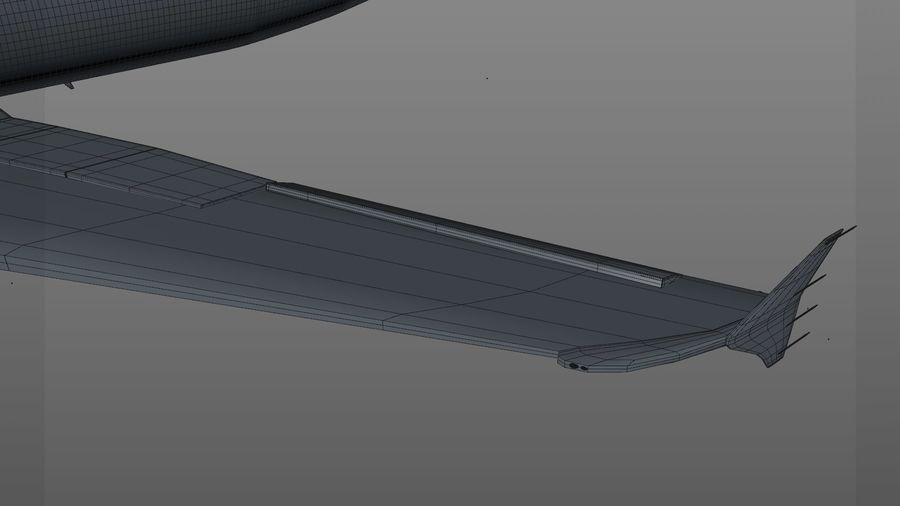AIR BERLIN Airbus A320 L494 royalty-free 3d model - Preview no. 56