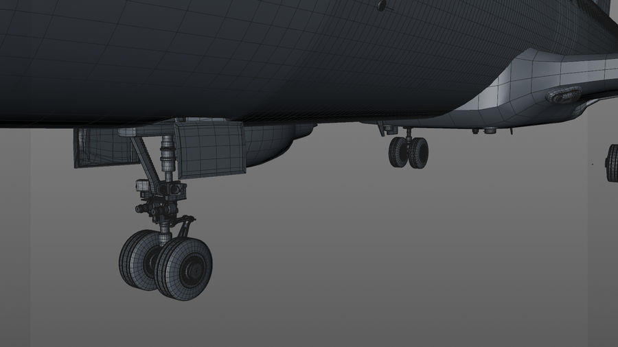 AIR BERLIN Airbus A320 L494 royalty-free 3d model - Preview no. 57