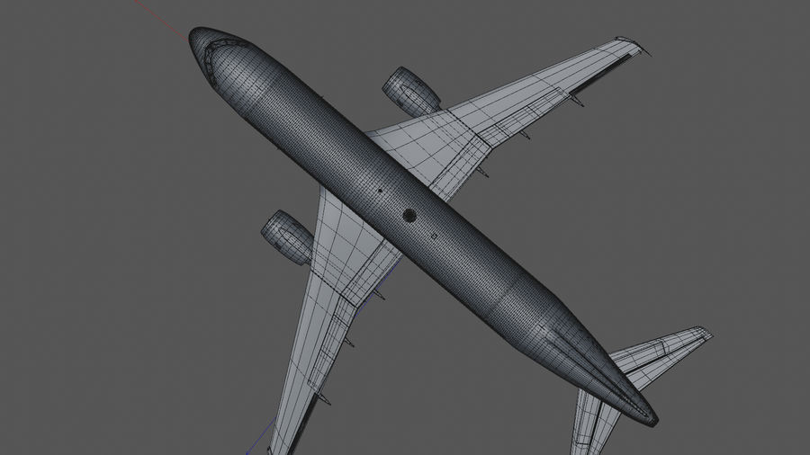AIR BERLIN Airbus A320 L494 royalty-free 3d model - Preview no. 41