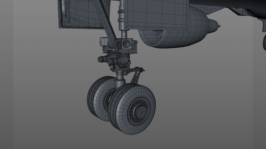 AIR BERLIN Airbus A320 L494 royalty-free 3d model - Preview no. 58