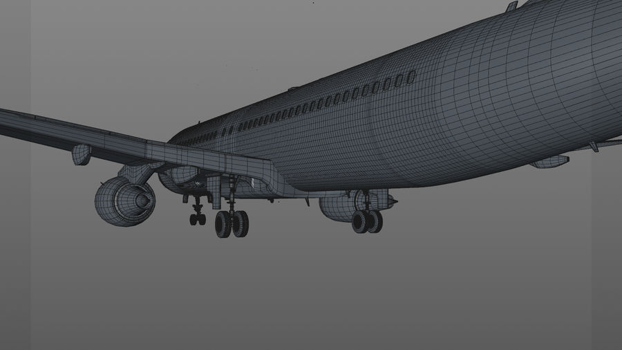 AIR BERLIN Airbus A320 L494 royalty-free 3d model - Preview no. 59