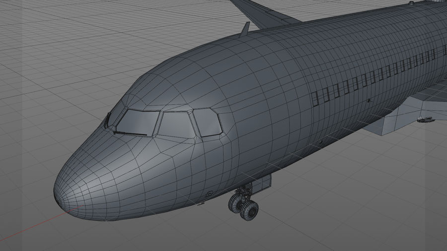 AIR BERLIN Airbus A320 L494 royalty-free 3d model - Preview no. 33