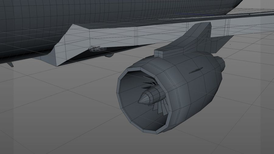 AIR BERLIN Airbus A320 L494 royalty-free 3d model - Preview no. 34