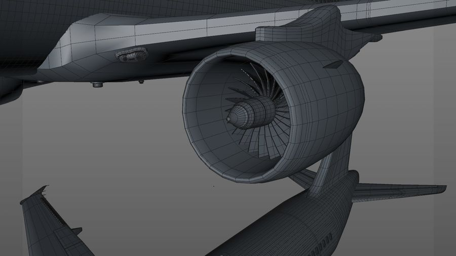 AIR BERLIN Airbus A320 L494 royalty-free 3d model - Preview no. 52
