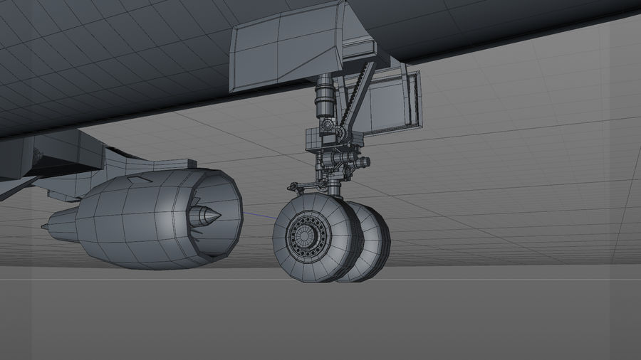 AIR BERLIN Airbus A320 L494 royalty-free 3d model - Preview no. 30