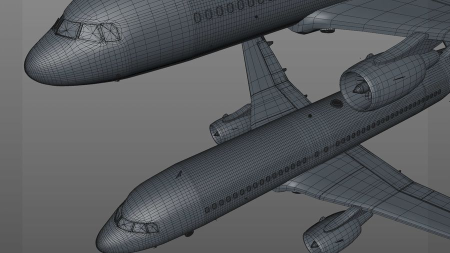 AIR BERLIN Airbus A320 L494 royalty-free 3d model - Preview no. 51