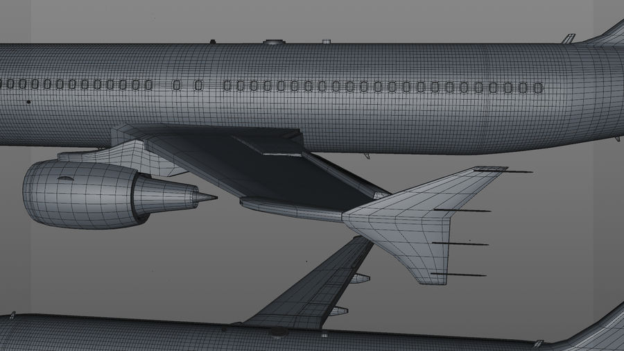 AIR BERLIN Airbus A320 L494 royalty-free 3d model - Preview no. 55
