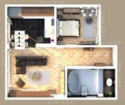 Apartment Full Interior 3d model