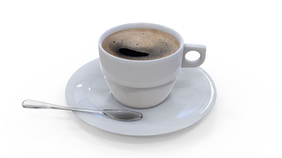 Cup Coffee royalty-free 3d model - Preview no. 1