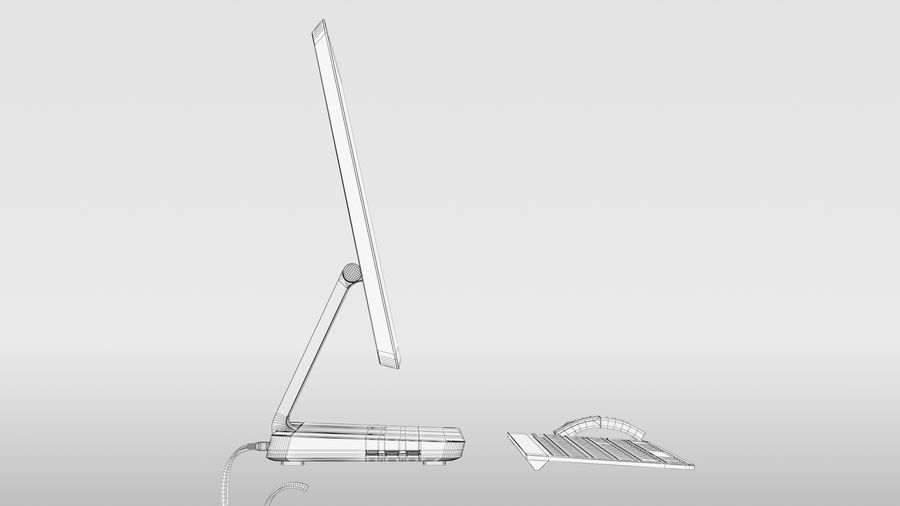 Office Computer royalty-free 3d model - Preview no. 19