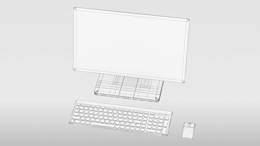 Ordinateur de bureau royalty-free 3d model - Preview no. 21