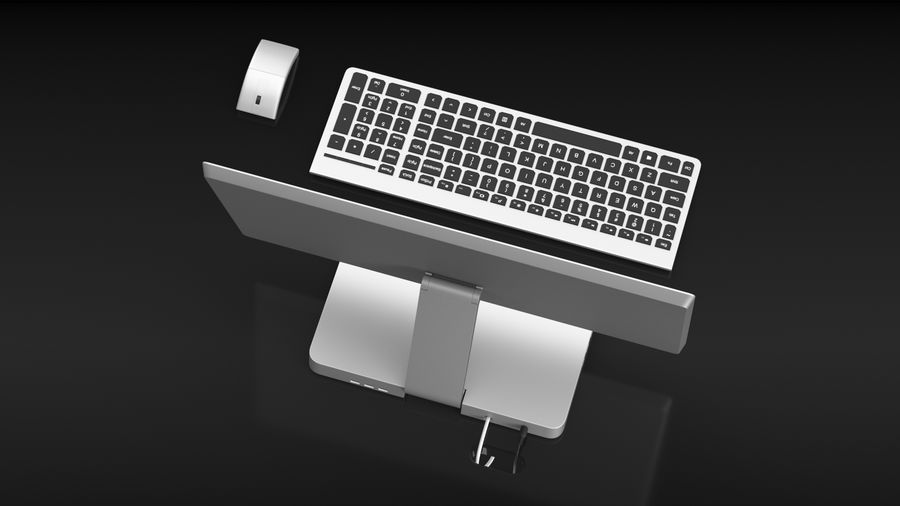 Office Computer royalty-free 3d model - Preview no. 13