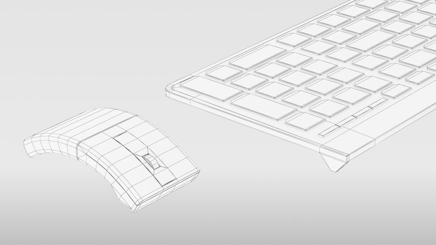 Office Computer royalty-free 3d model - Preview no. 20