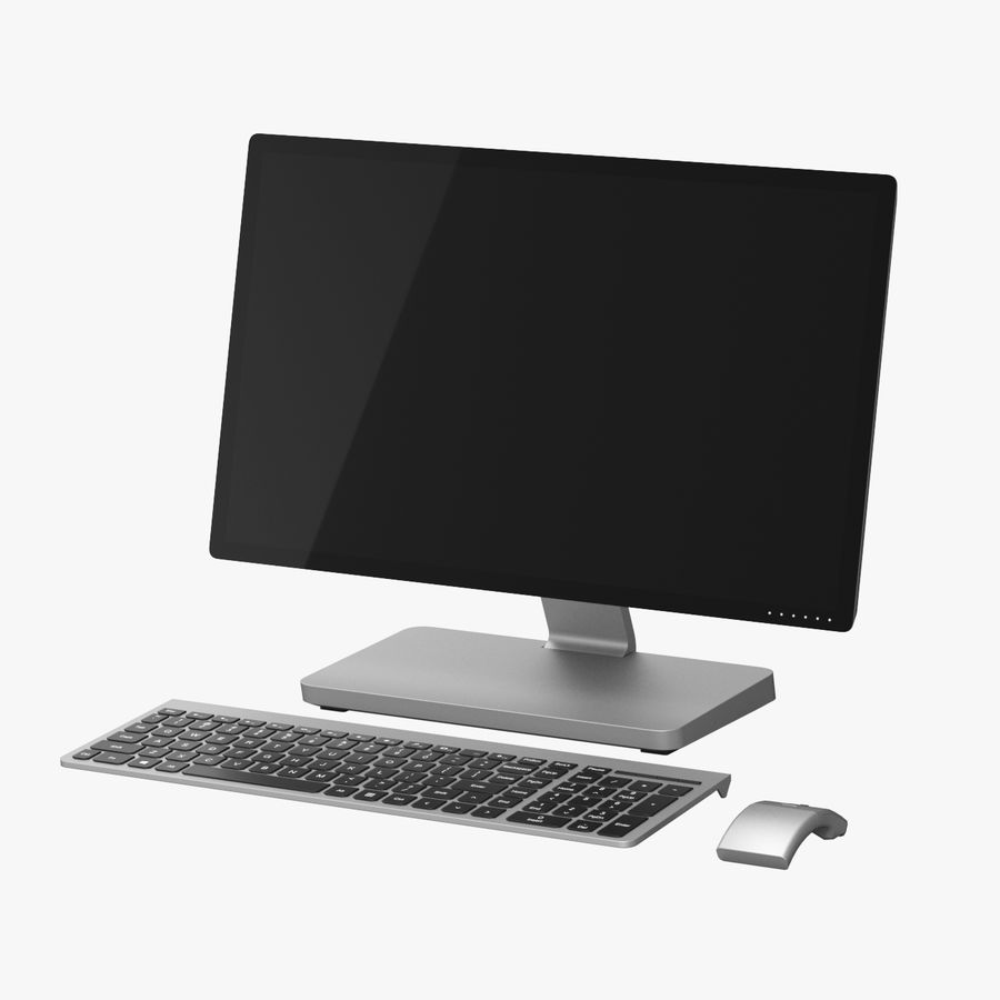 Office Computer royalty-free 3d model - Preview no. 1