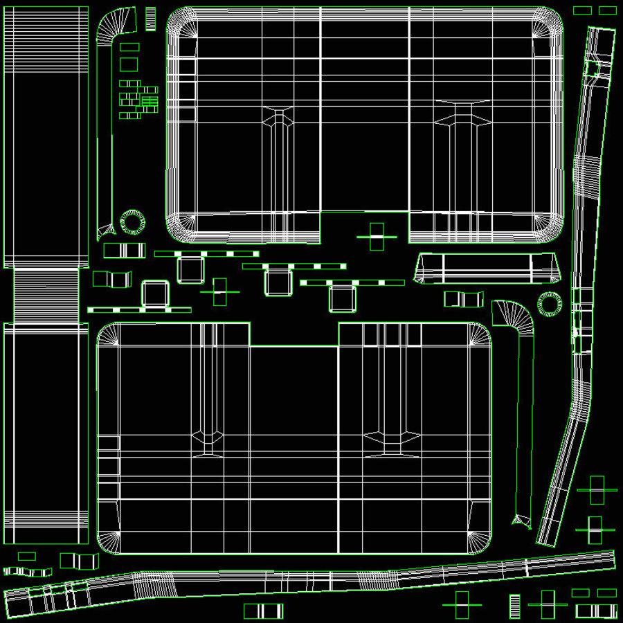 Ordinateur de bureau royalty-free 3d model - Preview no. 31