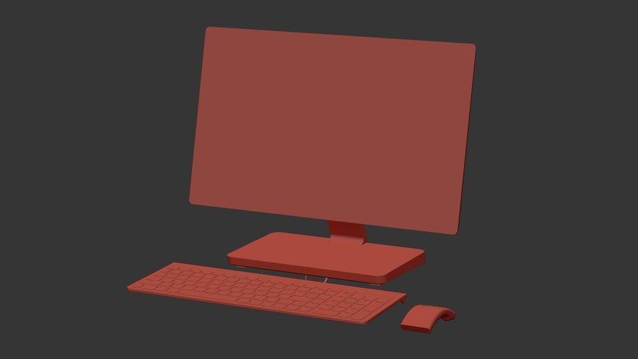 Ordinateur de bureau royalty-free 3d model - Preview no. 23