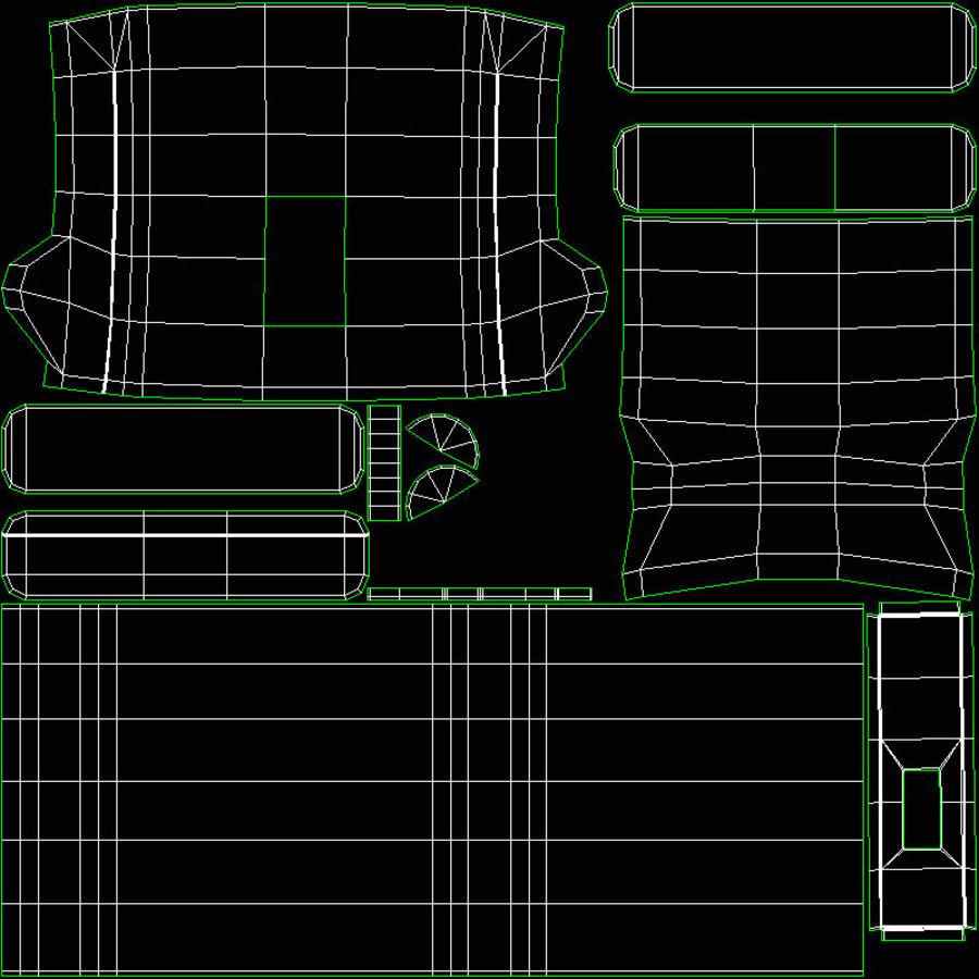 Ordinateur de bureau royalty-free 3d model - Preview no. 29