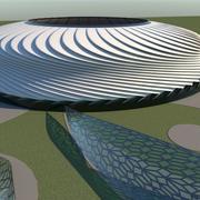 stadion 11 3d model