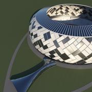 stadion 14 3d model