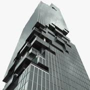 Edificio MahaNakhon 3d model