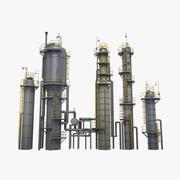 製油所タワー 3d model