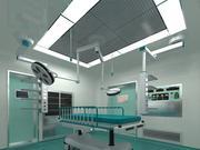 Operation room 01 3d model