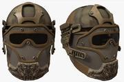 头盔军事幻想电子人盔甲发展幻想 3d model