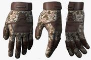 Handskar militär strid soldat rustning scifi fantasy 3d mänskliga 3d model