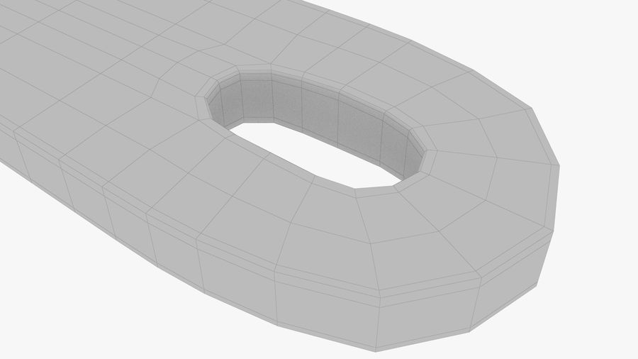 Drewniana łyżka royalty-free 3d model - Preview no. 16