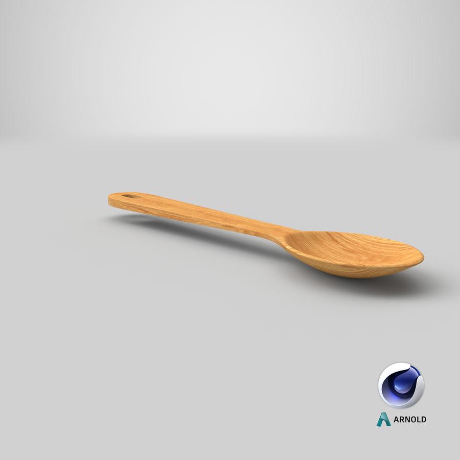 Drewniana łyżka royalty-free 3d model - Preview no. 21