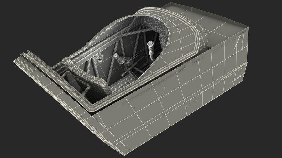 Cockpit d'avion acrobatique royalty-free 3d model - Preview no. 15