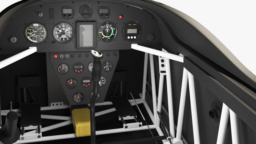 Cockpit d'avion acrobatique royalty-free 3d model - Preview no. 5