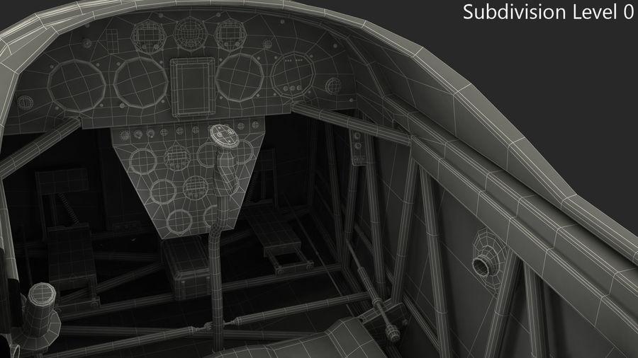 Cockpit d'avion acrobatique royalty-free 3d model - Preview no. 7