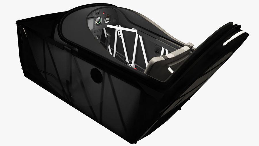 Cockpit d'avion acrobatique royalty-free 3d model - Preview no. 4
