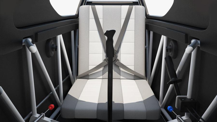 Cockpit d'avion acrobatique royalty-free 3d model - Preview no. 6