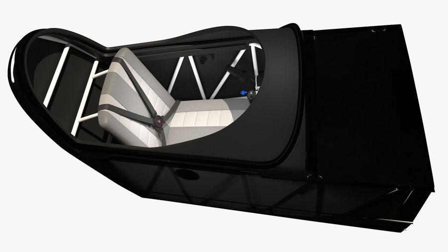 Cockpit d'avion acrobatique royalty-free 3d model - Preview no. 3