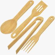 Colección de utensilios de cocina modelo 3d